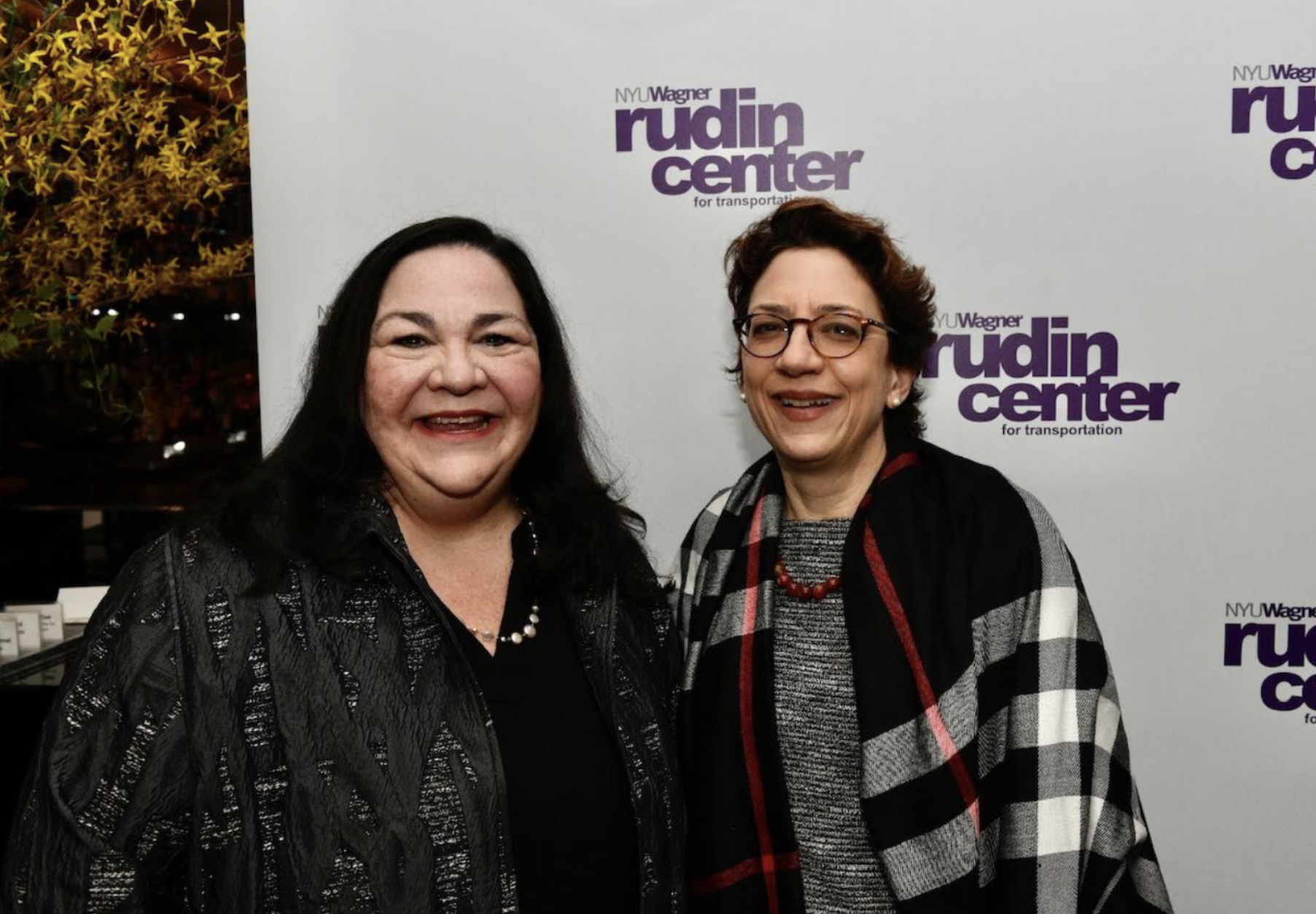 Polly Trottenberg, NYC DOT Commissioner, and Marie Therese Dominguez, NY State DOT Commissioner