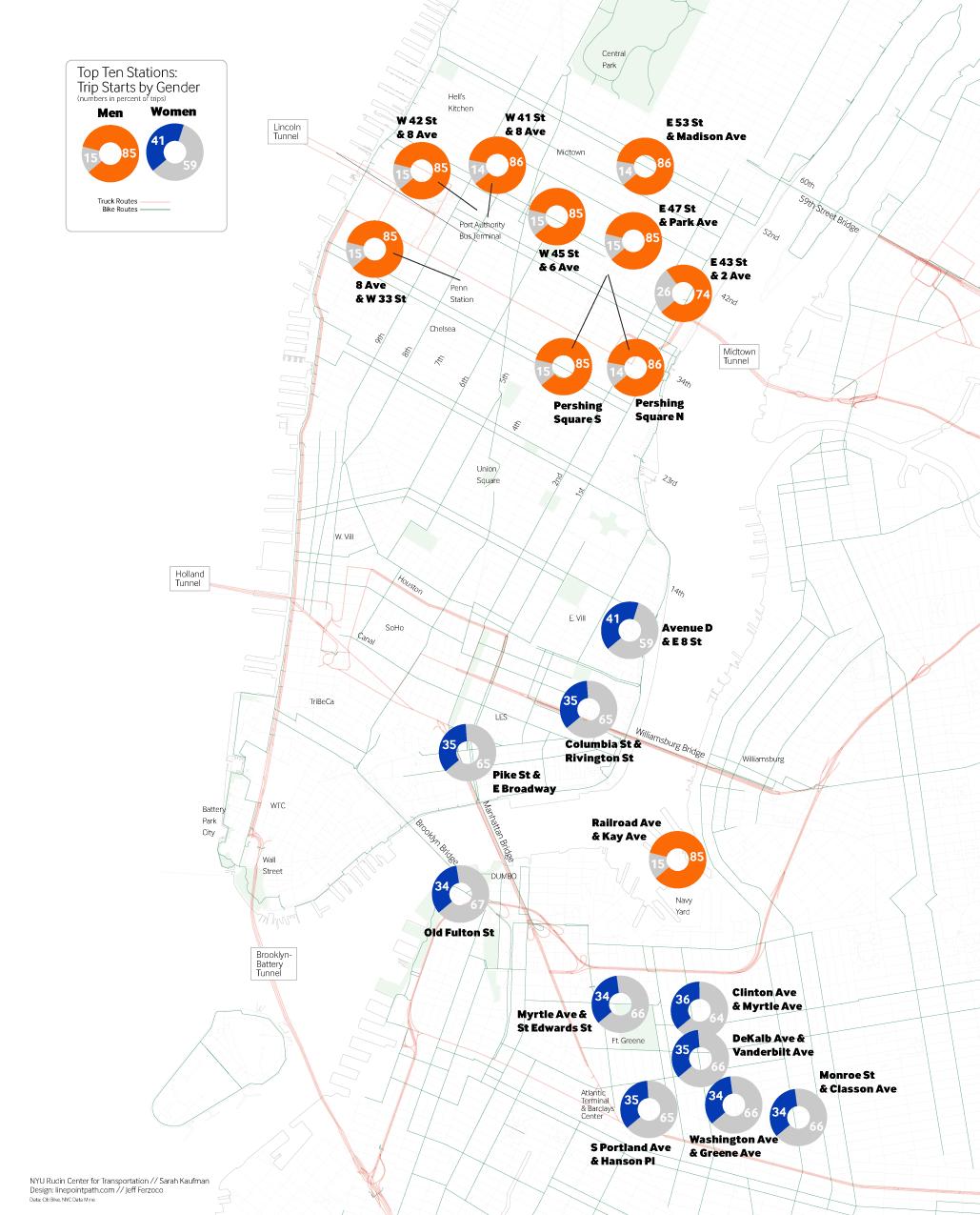 Doitt Nyc Map.Citi Bike And Gender Nyu Wagner