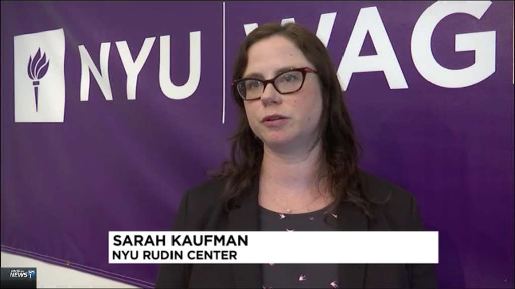 Sarah M. Kaufman on NY1 News
