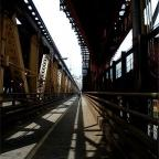 Amy Faust MUP, Spring 2011  Queensboro Bridge bike path  One of my first bike rides in New York. A l