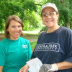 FELPS partnered with the Central Park Conservancy for a Day of Service to help with preservation eff