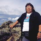 Sarah James, Gwich'in Steering Committee; Photo by James H. Barker