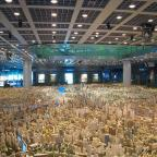 Scale model of Shanghai 2020 vision at Shanghai Urban Planning Museum (Photo from Taj Campbell, Neat
