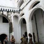 A tour of the historic Elmina Castle.  Photo by Sandra Vu