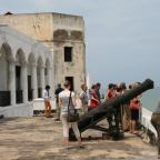 Visiting historic Elmina Castle. Photo by Sandra Vu