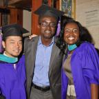 On May 22, hundreds of graduates filled New York City Center to celebrate NYU Wagner's 2014 Convocat