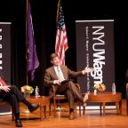 Event: Campaign Watch 2012 with George Stephanopoulos.  Other participants were Democratic strategis