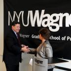 Lunch with Congressman Bill Shuster at NYU Rudin Center for Transportation, May 14, 2012.