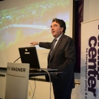 Santiago Calatrava visits the NYU Rudin Center, February 25, 2014