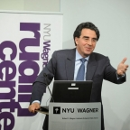 Distinguished Architect, Santiago Calatrava, visits the NYU Rudin Center.