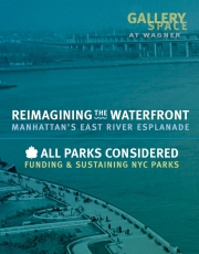 Reimagining the City's Waterfront and Parks: Gallery Opening and Panel Discussion