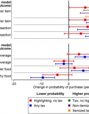 Promotion of Healthy Eating  through Public Policy: A Controlled Experiment