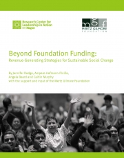 Beyond Foundation Funding: Revenue-Generating Strategies for Sustainable Social Change