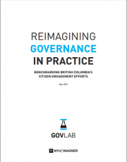 Reimagining Governance in Practice: Benchmarking British Columbia's Citizen Engagement Efforts