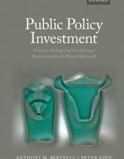 Public Policy Investment: Policy Prioritization and British Statecraft