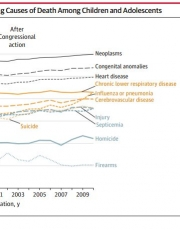 Scientific Publications on Firearms in Youth Before and After Congressional Action Prohibiting Federal Research Funding