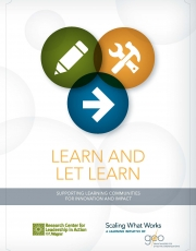 Learn and Let Learn: Supporting Learning Communities for Innovation and Impact