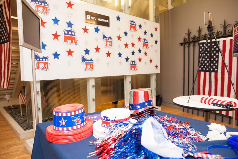 Patriotic party supplies ofr guests to wear