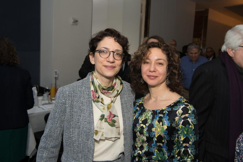 Polly Trottenberg and Meera Joshi