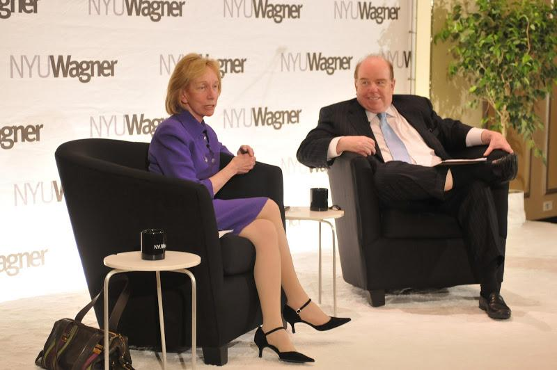NYU Wagner Senior Fellow Bob Shrum and Author/Historian Doris Kearns Goodwin