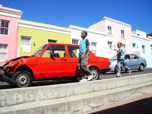 Ariana Karamallis MacPherson MUP, Winter 2011  Running in the Bo-Kaap Cape Town, South Africa During