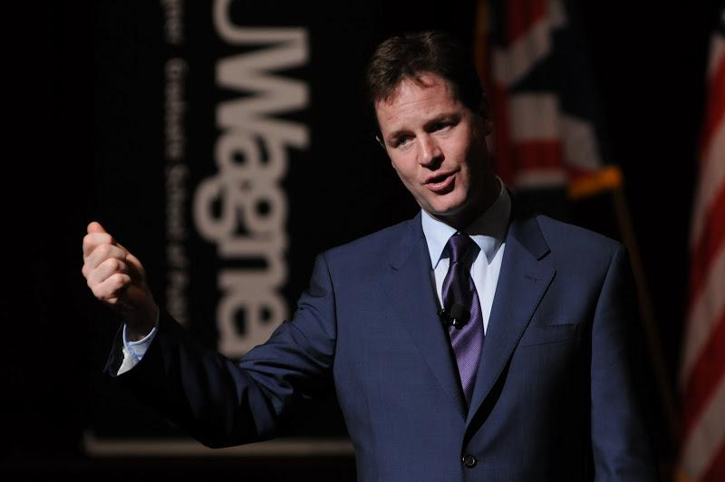 Speaking of Clegg, Dean Schall remarked, The deputy prime minister is not only a compelling politica