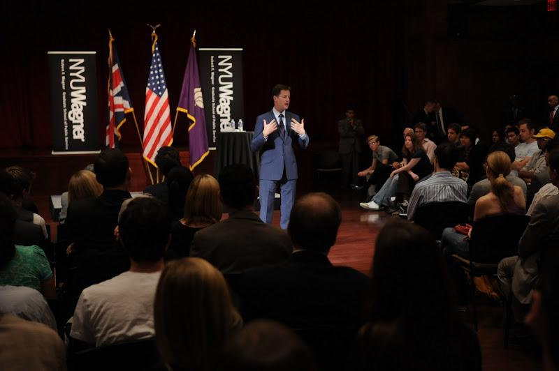 The event came during UN Week in New York and attracted more than 350 people to the Kimmel Center fo