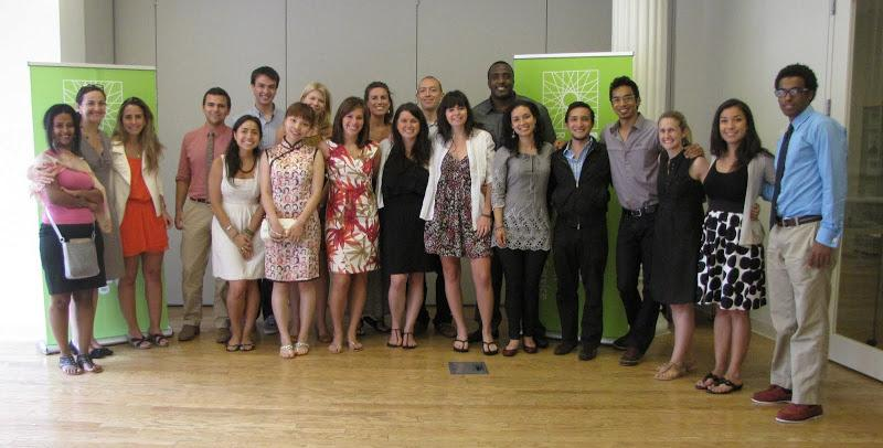 Participants in RCLA's 2011 Global Social Change Leadership Institute