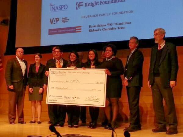 Congratulations to four NYU Wagner students for winning the third annual National Invitational Publi