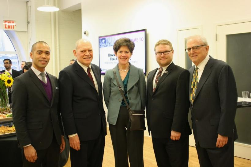3/6/14: Military veterans were in focus at the 18th Annual Kovner-Behrman Health Forum at NYU Wagner