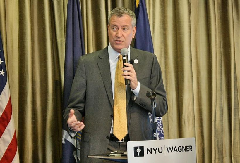 7/17/14: NYC Mayor Bill de Blasio and Schools Chancellor Carmen Fariña launched the Community Schoo