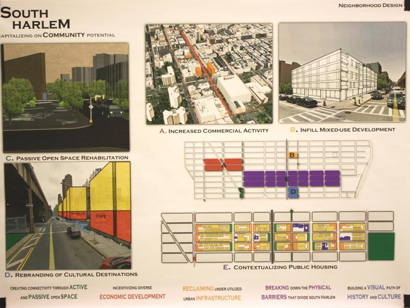 South Harlem: Capitalizing on Community Potential.  Project by Tony Berkel, Joyce Huang, Beth Morris