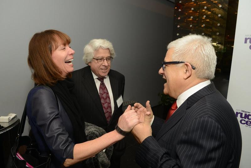 NYCDOT Commissioner Janette Sadik-Khan, Jay Kriegel of Related Inc., and NYU Rudin Center Director M