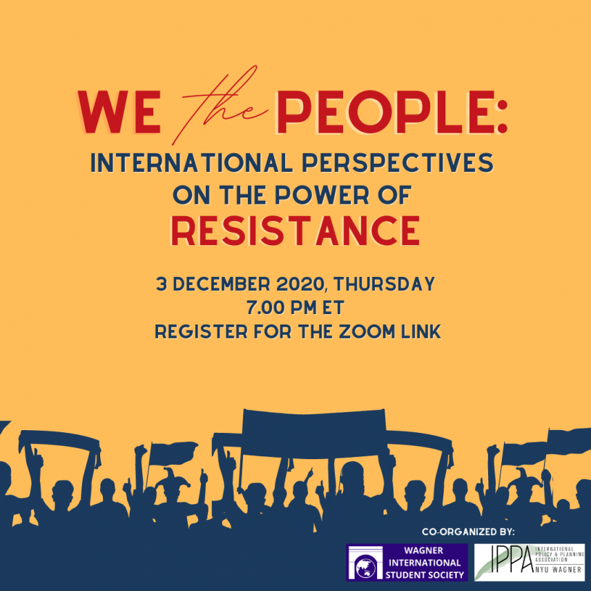 We The People: International Perspectives on the Power of Resistance