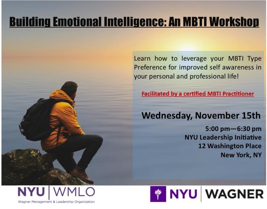 Building Emotional Intelligence An Mbti Workshop Nyu Wagner