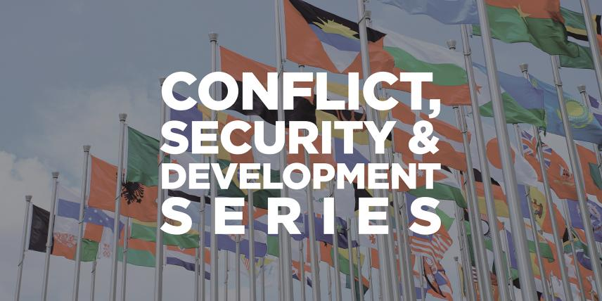 Conflict, Security & Development Series