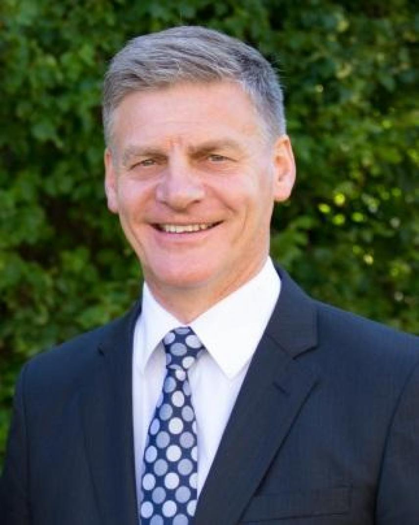 Headshot of Sir Bill English