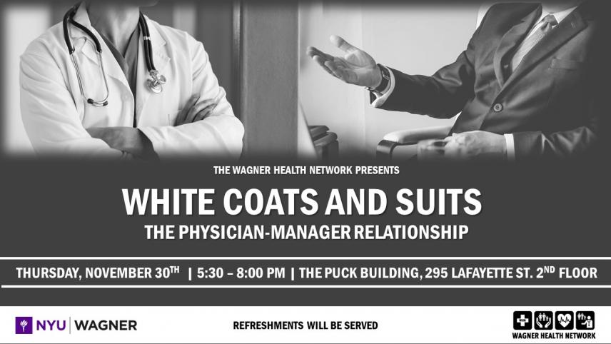 Physician-Manager Event Flyer