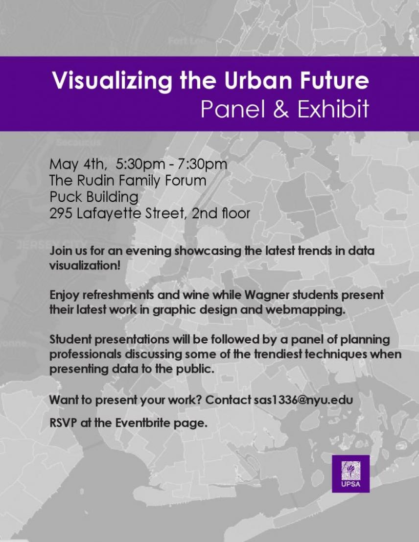 Visualizing the Urban Future: Panel & Exhibit