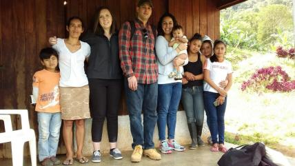 Project Alianza Scholarship Recipient and Mother, Capstone Team, Nicaragua