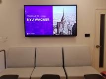 Digital Signage in Wagner Lobby