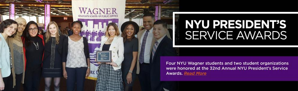NYU President's Service Awards