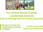 Instituto de Liderazgo para el Cambio Social Global (Spanish)