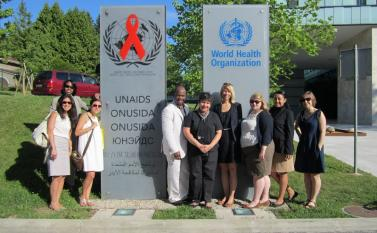 Wagner's International Health Policy class visits the WHO Photo by Vivian Yela