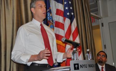 U.S. Education Secretary Arne Duncan lauded New York State Commissioner of Education John King Jr. (