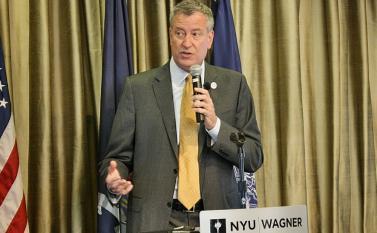 7/17/14: NYC Mayor Bill de Blasio and Schools Chancellor Carmen Fariña launched the Community Schoo