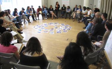 "Leadership in Action at Wagner creates collaborative learning environments to develop leadership. <br /> <a href=""https://wagner.nyu.edu/leadership/development"">Read more</a>"