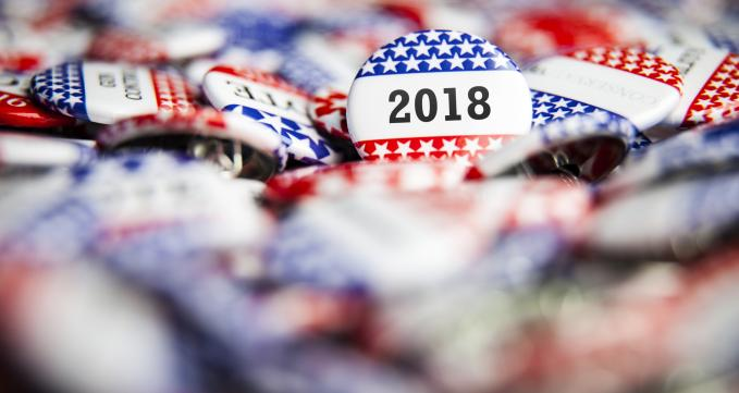 2018 midterm election pins