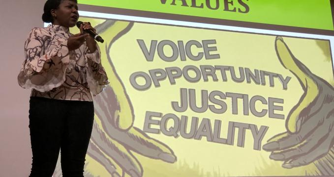 Jamila Brown at Effective Activist
