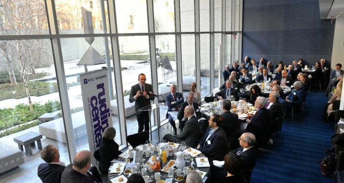 NYU Rudin Center's Excellence in Transportation Breakfast